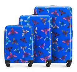 Zestaw walizek, multikolor, 56-3A-48S-90, Zdjęcie 1
