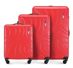 Zestaw walizek, czerwony, 56-3A-57S-30, Zdjęcie 1