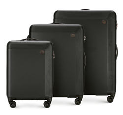 Luggage set, black, 56-3A-62S-10, Photo 1