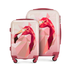 Luggage set, pink, 56-3A-64S-34, Photo 1
