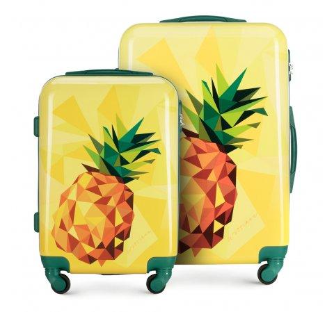 zestaw walizek, żółty, 56-3A-64S-34, Zdjęcie 1
