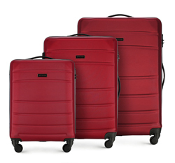 Luggage set, red, 56-3A-65S-35, Photo 1