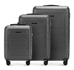 Zestaw walizek, szary, 56-3H-54S-00, Zdjęcie 1