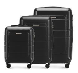Zestaw walizek, czarny, 56-3H-54S-10, Zdjęcie 1