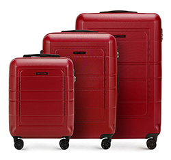 Luggage set, red, 56-3H-54S-30, Photo 1