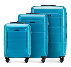 Zestaw walizek, niebieski, 56-3H-54S-95, Zdjęcie 1