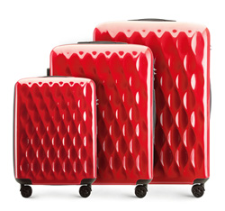 Luggage set, red, 56-3H-55S-30, Photo 1