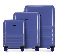 Zestaw walizek, fioletowy, 56-3H-57S-24, Zdjęcie 1