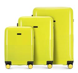 Zestaw walizek, limonkowy, 56-3H-57S-50, Zdjęcie 1