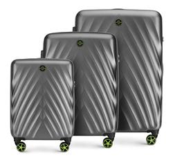 Zestaw walizek, szary, 56-3P-80S-00, Zdjęcie 1