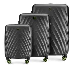 Zestaw walizek, czarny, 56-3P-80S-10, Zdjęcie 1
