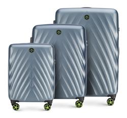 Zestaw walizek, niebieski, 56-3P-80S-90, Zdjęcie 1