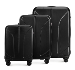Luggage set, black, 56-3P-81S-10, Photo 1