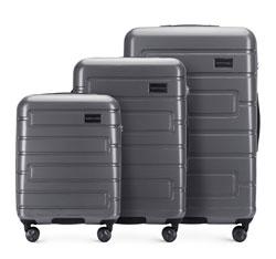 Zestaw walizek, szary, 56-3P-83S-00, Zdjęcie 1
