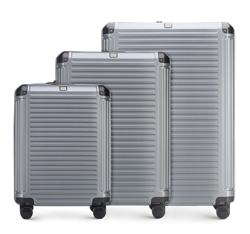 Luggage set, grey, 56-3P-85S-00, Photo 1