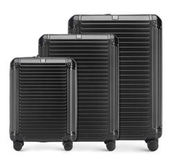 Zestaw walizek, czarny, 56-3P-85S-10, Zdjęcie 1
