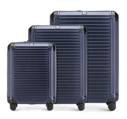 Zestaw walizek, granatowy, 56-3P-85S-90, Zdjęcie 1