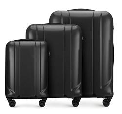 Zestaw walizek, czarny, 56-3P-86S-11, Zdjęcie 1