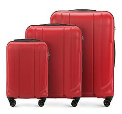 Zestaw walizek, czerwony, 56-3P-86S-30, Zdjęcie 1