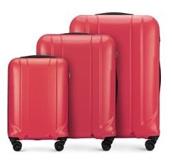 Zestaw walizek, czerwony, 56-3P-86S-31, Zdjęcie 1