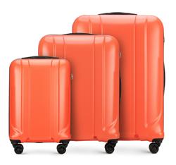 Zestaw walizek, pomarańczowy, 56-3P-86S-56, Zdjęcie 1
