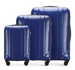 Zestaw walizek, granatowy, 56-3P-86S-91, Zdjęcie 1