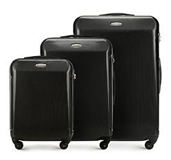 Zestaw walizek, czarny, 56-3P-87S-10, Zdjęcie 1