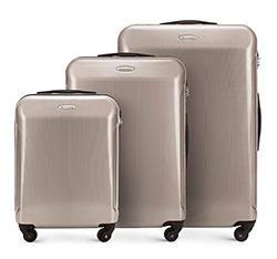 Zestaw walizek, beżowo - szary, 56-3P-87S-80, Zdjęcie 1
