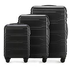 Zestaw walizek, czarny, 56-3P-88S-10, Zdjęcie 1