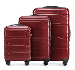 Luggage set, red, 56-3P-88S-30, Photo 1