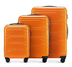 Luggage set, orange, 56-3P-88S-55, Photo 1