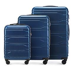 Luggage set, navy blue, 56-3P-88S-90, Photo 1