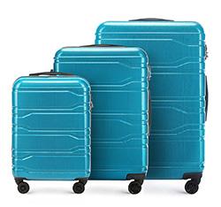 Luggage set, blue, 56-3P-88S-95, Photo 1