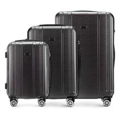 Zestaw walizek, czarny, 56-3P-89S-10, Zdjęcie 1