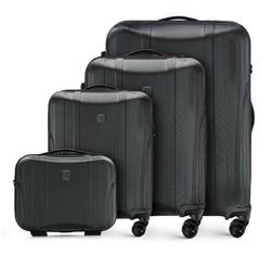 Zestaw walizek, czarny, 56-3P-91K-10, Zdjęcie 1