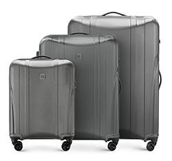 Zestaw walizek, grafitowy, 56-3P-91S-00, Zdjęcie 1
