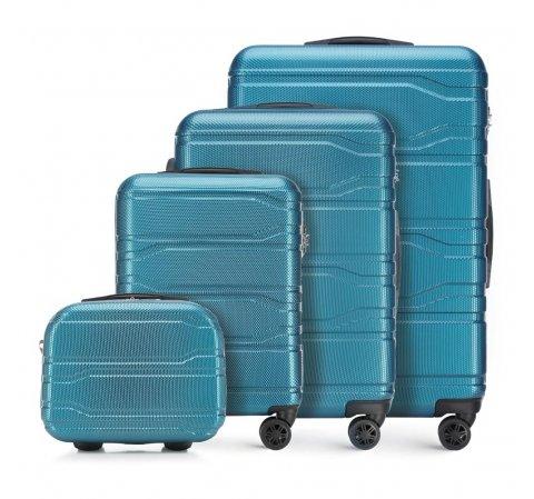 Zestaw walizek, niebieski, 56-3P-98K-31, Zdjęcie 1