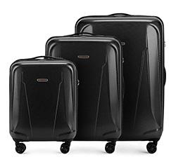 Zestaw walizek, czarny, 56-3P-99S-10, Zdjęcie 1