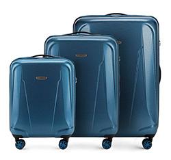Zestaw walizek, niebieski, 56-3P-99S-95, Zdjęcie 1