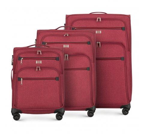Комплект чемоданов Wittchen 56-3S-50S-30