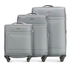Zestaw walizek, szary, 56-3S-62S-00, Zdjęcie 1