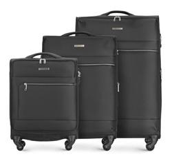 Luggage set, black, 56-3S-62S-10, Photo 1
