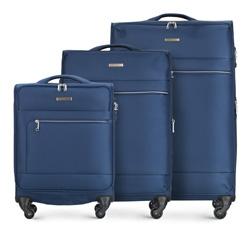 Luggage set, navy blue, 56-3S-62S-90, Photo 1