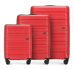 Zestaw walizek, czerwony, 56-3T-75S-30, Zdjęcie 1
