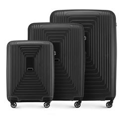 Zestaw walizek, czarny, 56-3T-78S-10, Zdjęcie 1