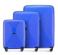 Zestaw walizek, niebieski, 56-3T-78S-90, Zdjęcie 1