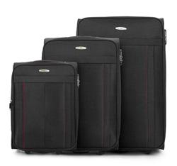 Zestaw walizek, czarny, V25-3S-27S-10, Zdjęcie 1