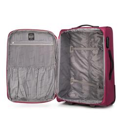 Zestaw walizek dwukolorowych miękkich, czerwony, V25-3S-23S-31, Zdjęcie 1