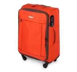 Luggage set, orange-black, 56-3S-46S-55, Photo 1
