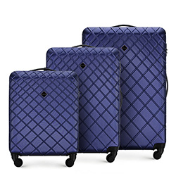 Luggage set, navy blue, 56-3A-55S-91, Photo 1